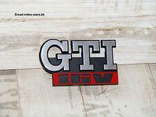 Emblem Schriftzug Kühlergrill Grill Grillemblem VW Golf II 2 GTI 16V Edition One