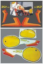 Kit SWM  TF3 347  Adesivi per tabelle 1982 - adesivi/stickers/decal