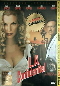 DVD-L-A-CONFIDENTIAL-Kevin-SPACEY-Russel-CROWE-Edizione-Speciale-ITALIANO