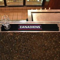 Montreal Canadiens 3.25 X 24 Bar Drink Mat - Man Cave, Bar, Game Room