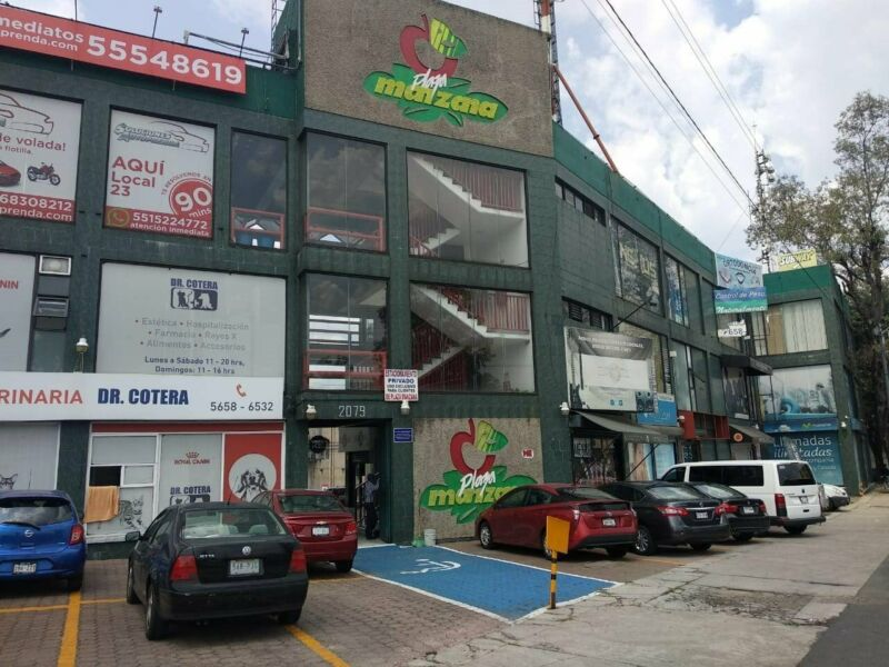 RENTA LOCAL COMERCIAL PLAZA MANZANA COPILCO