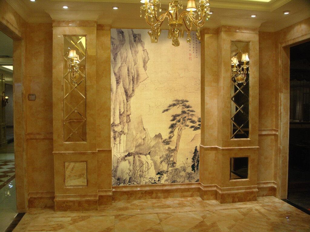 3D Pine Tree Stones 7 Wall Paper Murals Wall Print Wall Wallpaper Mural AU  Kyra
