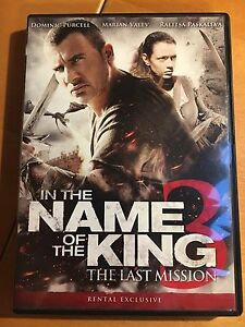 In The Name Of The King 3 The Last Mission Dvd Purcell Valev Paskaleva 24543868255 Ebay