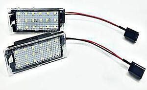 LED-Kennzeichenbeleuchtung-Module-Megane-Renault-Clio-III-Twingo-2-Megane-Laguna