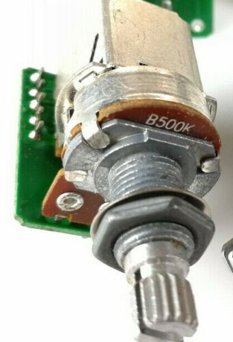 500k push//pull potentiometer with quick connector /& pigtail Epiphone /& import