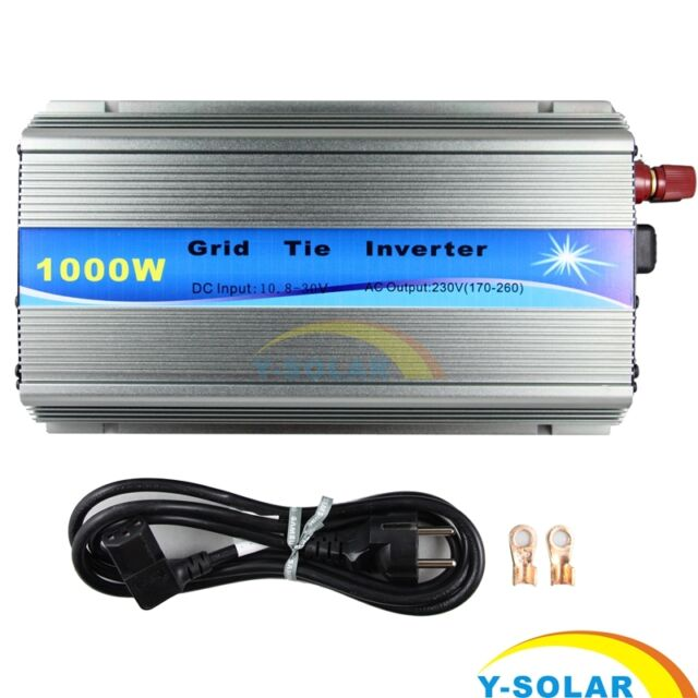 1000W Micro Solar Grid Tie Inverter MPPT Pure Sine Wave 10.8~28V To AC110V/220V