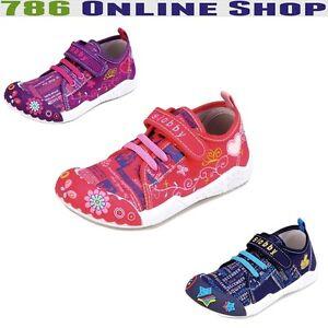 enfants-chaussures-decontractees-191c-en-toile-chaussons-taille-25-30-NEUF