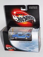 100% Hot Wheels Collectibles 1967 Shelby GT-500 Blue w/ Plastic Display Case