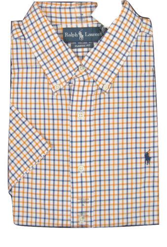 *Dress Shirt Type Fabric*   3 Styles NEW Polo Ralph Lauren Short Sleeve Shirt