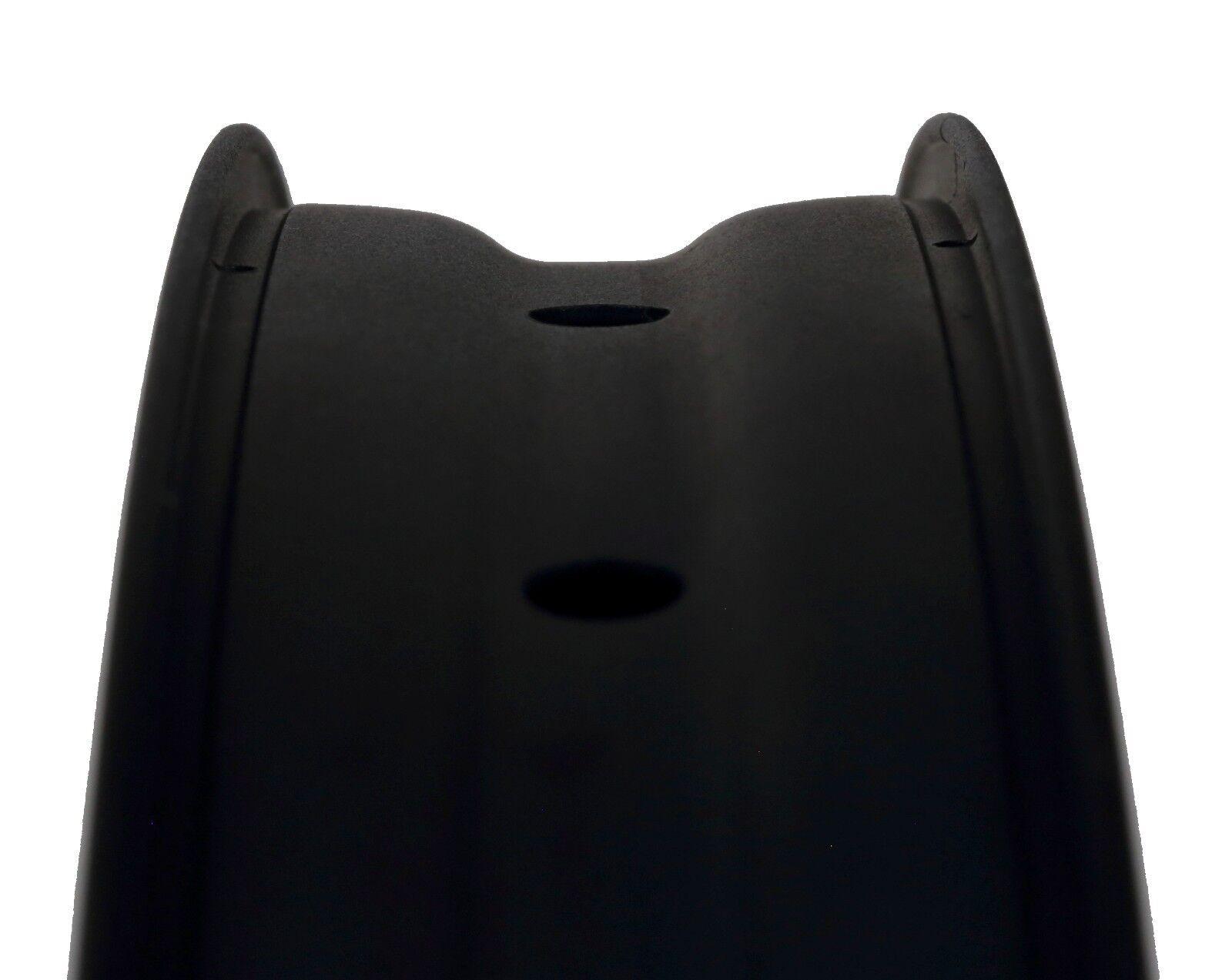 Erdmann 650b Plus FATBIKE Llanta (arenado) 50mm negro mate (arenado) Llanta 740 gramos 902fc0
