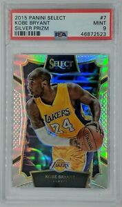 2015-16-Panini-Select-Silver-Prizm-Kobe-Bryant-7-Graded-PSA-9-Pop-9-22