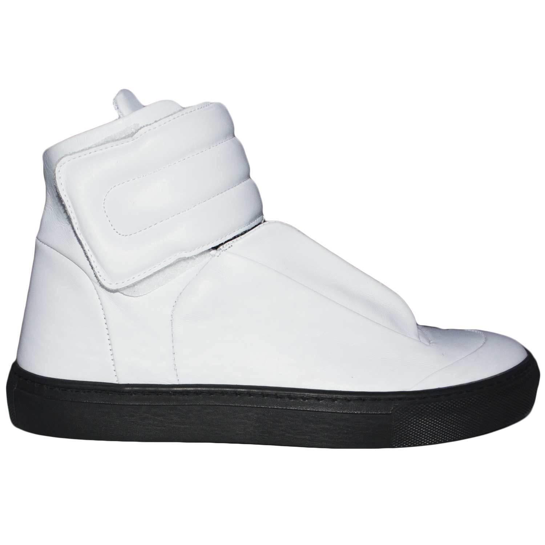 Sneakers pelle mister unica art:PU010 vera pelle Sneakers made in italy strappo e lacci interni 2d41df