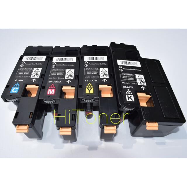 4 x Toner For Fuji Xerox CP115w CP116w CP225w CM115w CM225fw CT202264 ~ CT202267