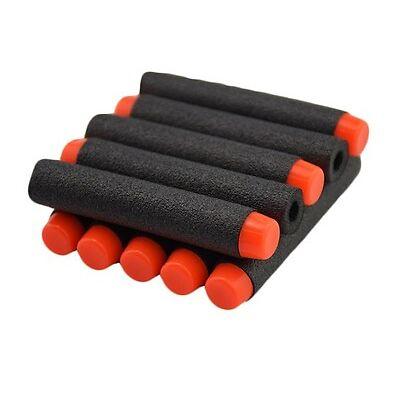 DARTS 50 PCS  for NERF N-Strike Elite Snapfire Blasters Gun Refill Bullets BLACK