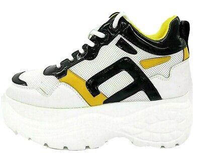 Scarpa sneakers da donna 06 Milano mod. Buffalo in pelle sportive estive casual   eBay