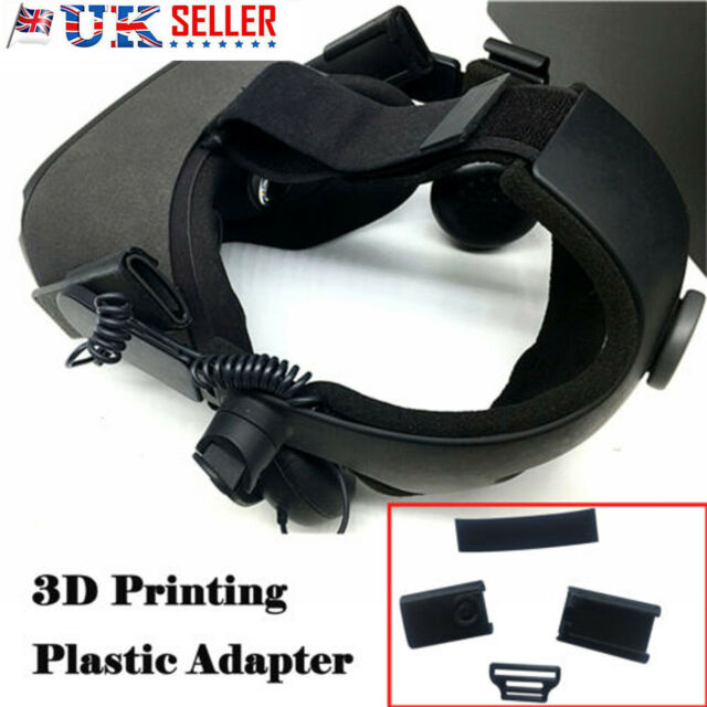 3D Printing Plastic Adapter Kits For HTC Vive Deluxe Audio Strap on Oculus Quest