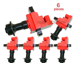 Ignition-Coil-Coils-Pack-For-Nissan-Skyline-R34-RB20-RB25-GTT-STAGEA-NEO-x-6pcs