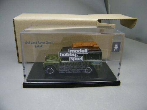 B 1of125 Matchbox 2019 Leipzig Convention 1965 Land Rover Gen II green