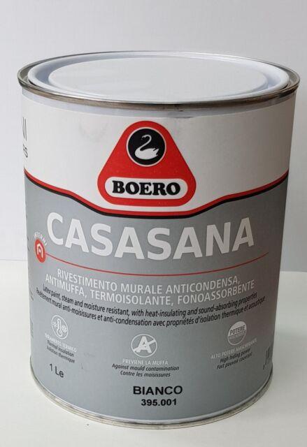 Boero Casasana Anticondensa 1 Lt Pittura Anticondenza Antimuffa Fonoassorbente Acquisti Online Su Ebay