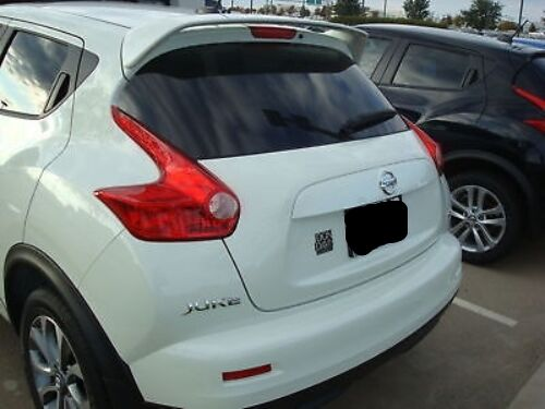 GREY PRIMER fits NISSAN JUKE 2011-2016 ABS REAR SPOILER WING NEW UN-PAINTED