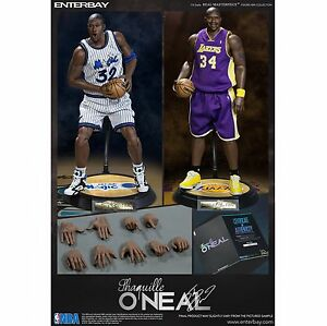 0705c0a8892 ... Image is loading 1-6-ENTERBAY-Real-Masterpiece-NBA-Collection NBA  Basketball - Shaquille ONeal 16th Scale Enterbay Action ...