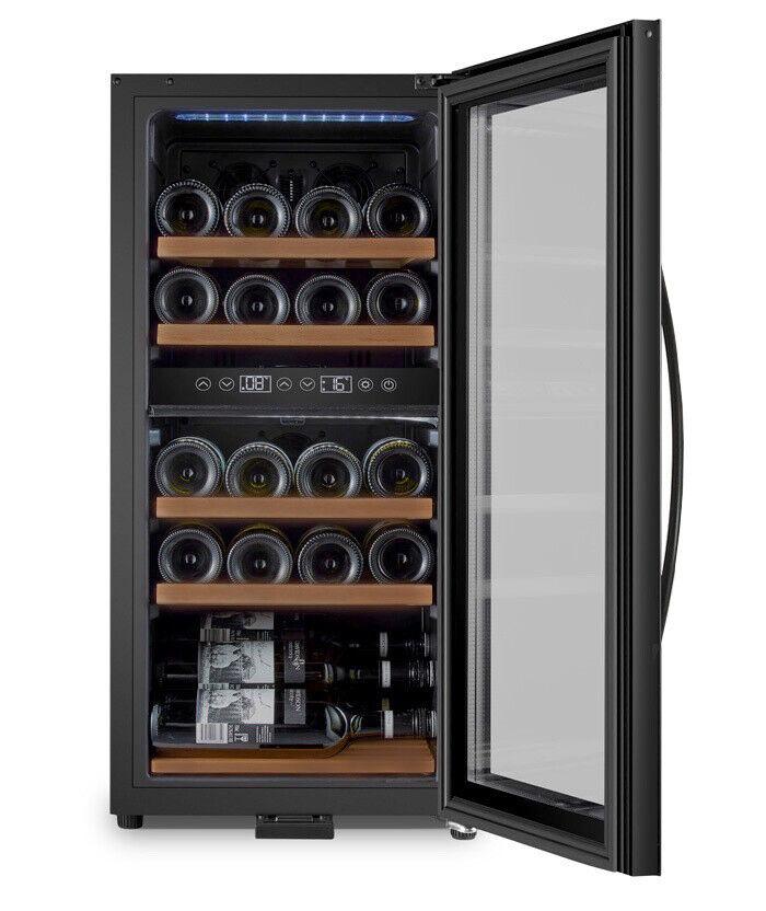 Fritstående Vinkøleskab 24 flasker - 30% Rabat!