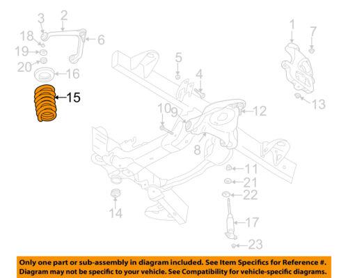 Dodge CHRYSLER OEM 02-05 Ram 1500 Front Suspension-Spring 52106602AA