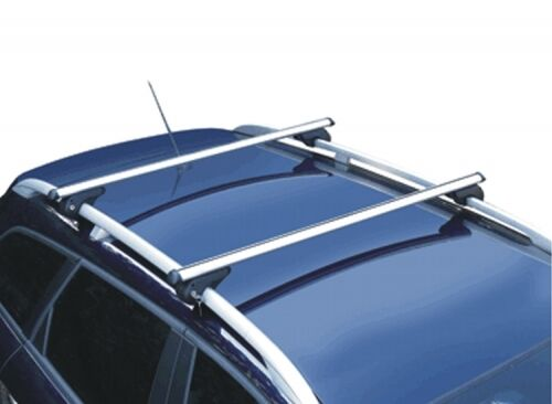M-Way Lockable Aluminium 90kg Car Roof Rack Rail Bars for VW Passat Estate 06-10