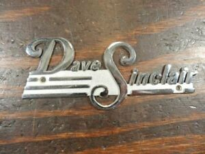 St Louis Ford Dealers >> Details About Dave Sinclair St Louis Mo Dealer S Car Nameplate Ford Chrysler Buick R776