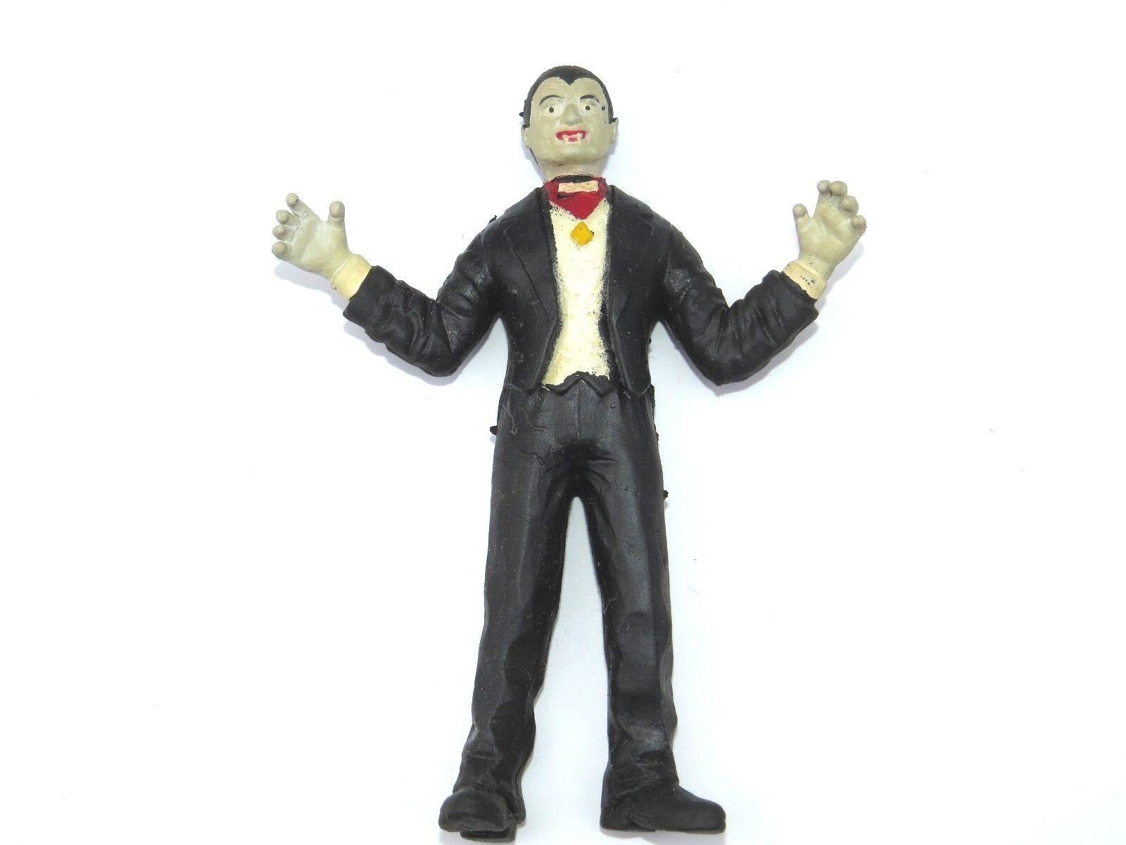 tienda hace compras y ventas Súper Rara Vintage 6  Drácula salvaje figura de de de goma suave relleno Eps del grano  ventas en línea de venta