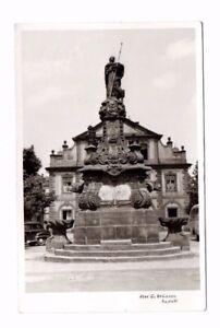 Germany-Rastatt-Alexiusbrunnen-Real-Photo-Postcard-Franked-1963