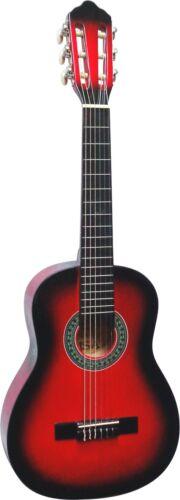 3xPlektren!n Gitarre//Kindergitarre 1//4-Jugend-Set-mit Tasche Band//Gurt Saiten