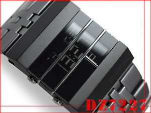 Diesel men 39 s digital atached protector face watch dz7227 ebay for Bulltoro watches