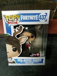 Funko Pop Fortnite Red Nose Raider Gamestop Exclusive Battle Royale