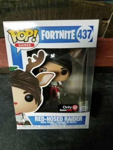 Funko POP Fortnite Rouge-Nez Raider Gamestop Exclusive Battle royale à la main #437