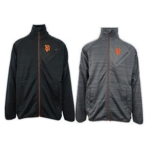 G-III-Sports-by-Carl-Banks-Men-039-s-San-Francisco-Giants-Turtle-Neck-Zip-Sweater