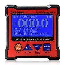 Floureon Axis Level Box Inclinometer Dual Axis Digital Angle Protractor