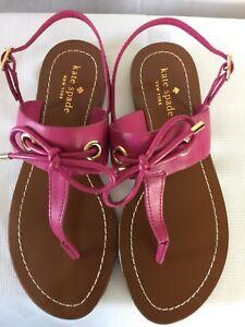 e3782b20a NWOT KATE SPADE New York-Carolina-Thong Sandals-Pink-Size 6 1 2 M