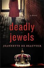 Amazing cozy / PI mystery! Deadly Jewels By Jeannette De Beauvoir