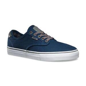 Vans Chima Ferguson Pro Men Shoes Plaid Dress Blues