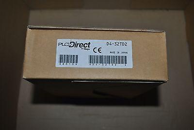 NEW IN BOX PLC DIRECT KOYO D4-32ND3-1 INPUT MODULE D432ND31 32 POINT INPUT