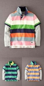 BODEN-BOYS-LONG-SLEEVED-LAYERED-POLO-T-SHIRT-3-COLOURS-AGES-1-12-BNWOT