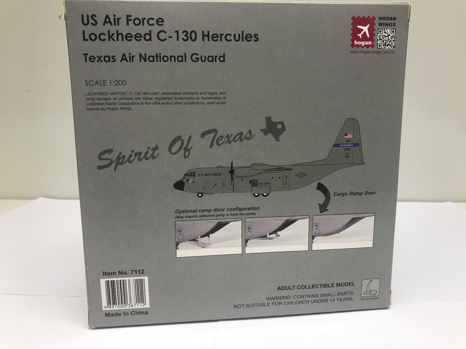 Hogan Wings 7112, Lockheed C-130 Hércules, US Air Force, Texas Air National Guar