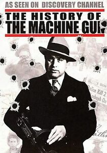THE HISTORY OF THE MACHINE GUN Guns Firearms Discovery Channel Firearm DVD NEW