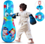 Inflatable Punching Bag for Kids 47 inch Free Standing Boxing Toy for Children,