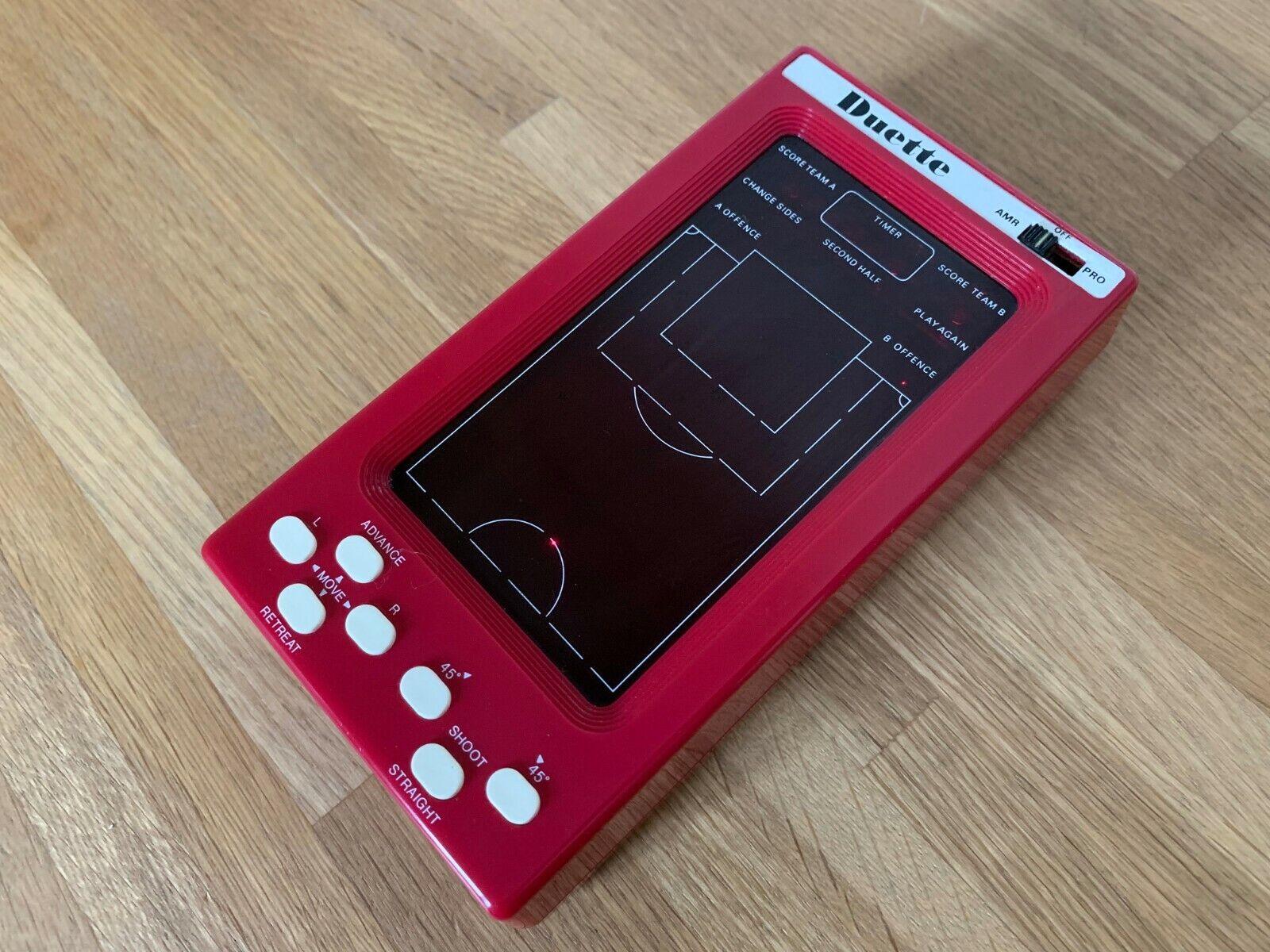 Ultra Rare Duette Soccer Vintage 1979 LED Handheld Electronic Game - Superb