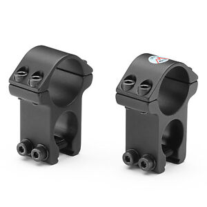 """SPORTSMATCH HST46C 1/"""" See Through Air Rifle Scope Mounts 11mm 3//8/"""" Rings"""