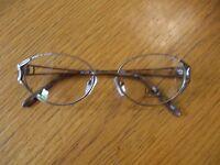 Legacy Eyeglasses Frames Wm2006 Brown Metal