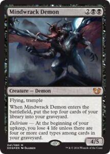 MTG-Mindwrack-Demon-FOIL-Blessed-Vs-Cursed-Mythic-Rare-Black-NM-M-SKU-208