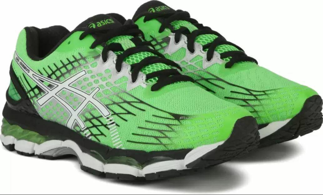 Nuevo en Caja Nuevo Hombre Asics Gel Nimbus 17 T509n 8501 Zapatillas para Correr